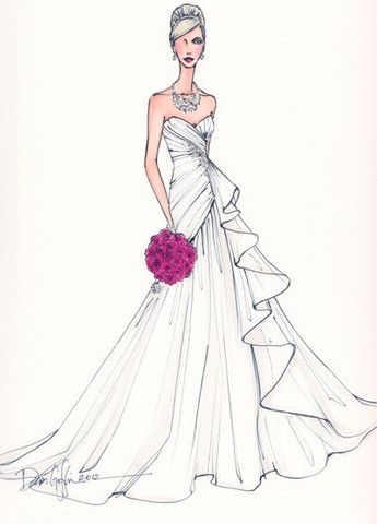 keepsake  original fashion illustrationtegan  lily