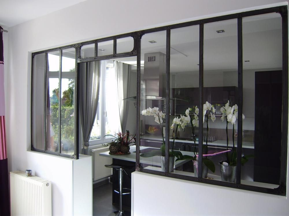 Stoolprofiler steel glass doors pinterest for Verrieres interieur style atelier