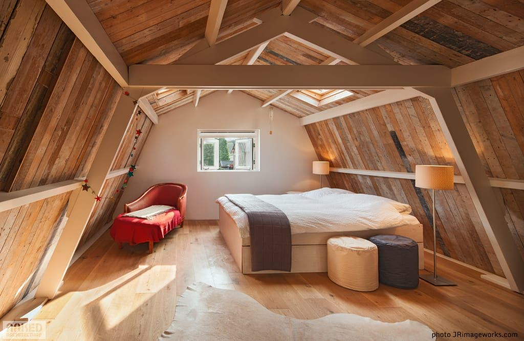Ideas for converting an attic (From Amy Buxton)