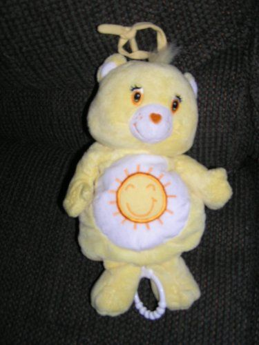 Care Bears Plush 10 Quot Musical Funshine Bear Baby Crib Toy