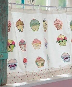 Cupcake Curtains Cupcake Kitchen Decor Kitchen Decor Decor