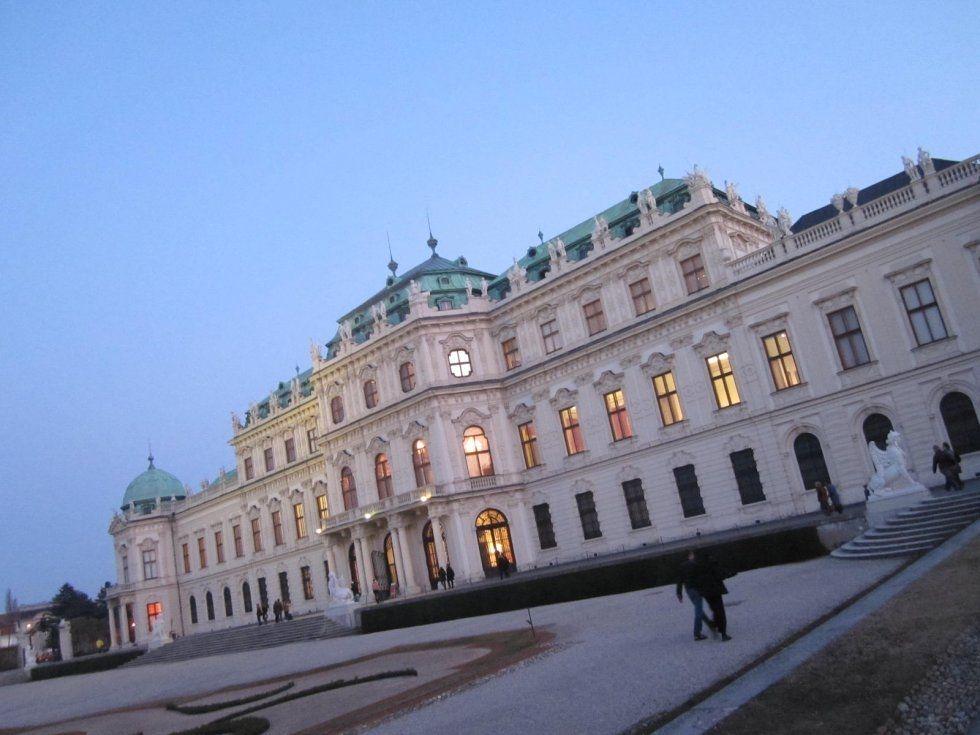 Osterreichische Galerie Belvedere Belvedere Travel Building
