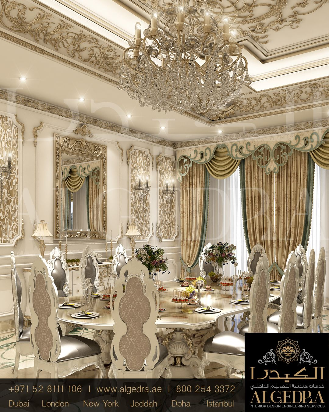 Mansion Dining Room: Luxury Dining Room, Home Decor