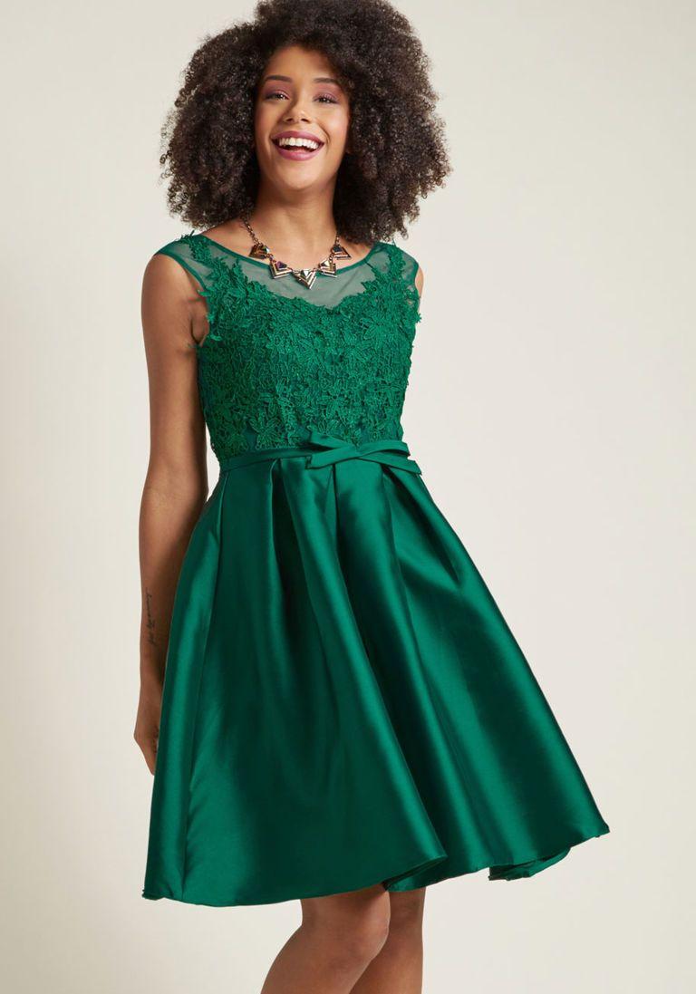 Vintage Cocktail Dresses, Party Dresses, Prom Dresses   Lace bodice ...