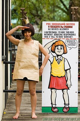 8. The Paper Bag Princess #paperbagprincesscostume 8. The Paper Bag Princess | 21 Children's Book Characters Born To Be Halloween Costumes #paperbagprincesscostume