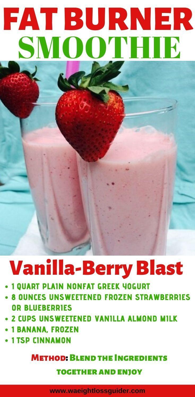 Red Berry Smoothie zur Gewichtsreduktion