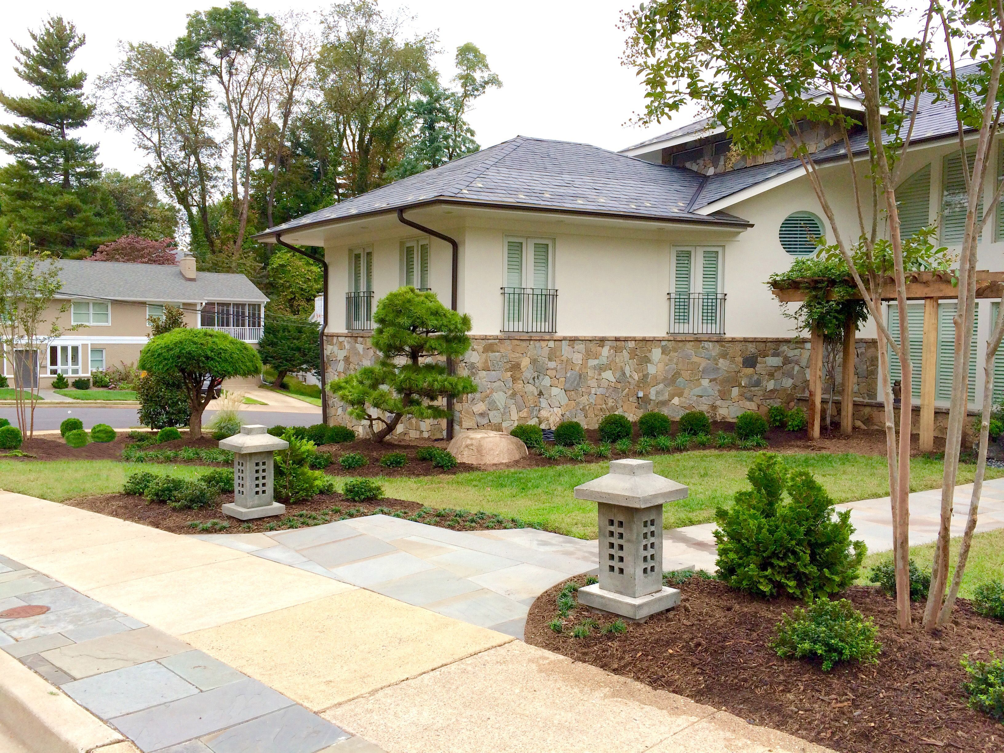 Japanese Garden Front Entrance Design Japanese Garden Design Japanese Garden Japanese Landscape