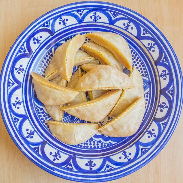 Recette Gateau Sec Fleur D Oranger: Cornes De Gazelle Marocaines à La Fleur D'oranger
