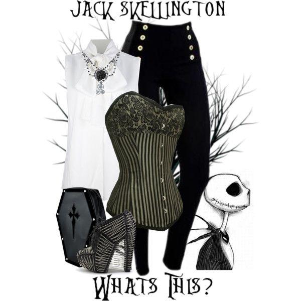 """Jack Skellington - Disney's Nightmare Before Christmas"" by rubytyra on Polyvore"