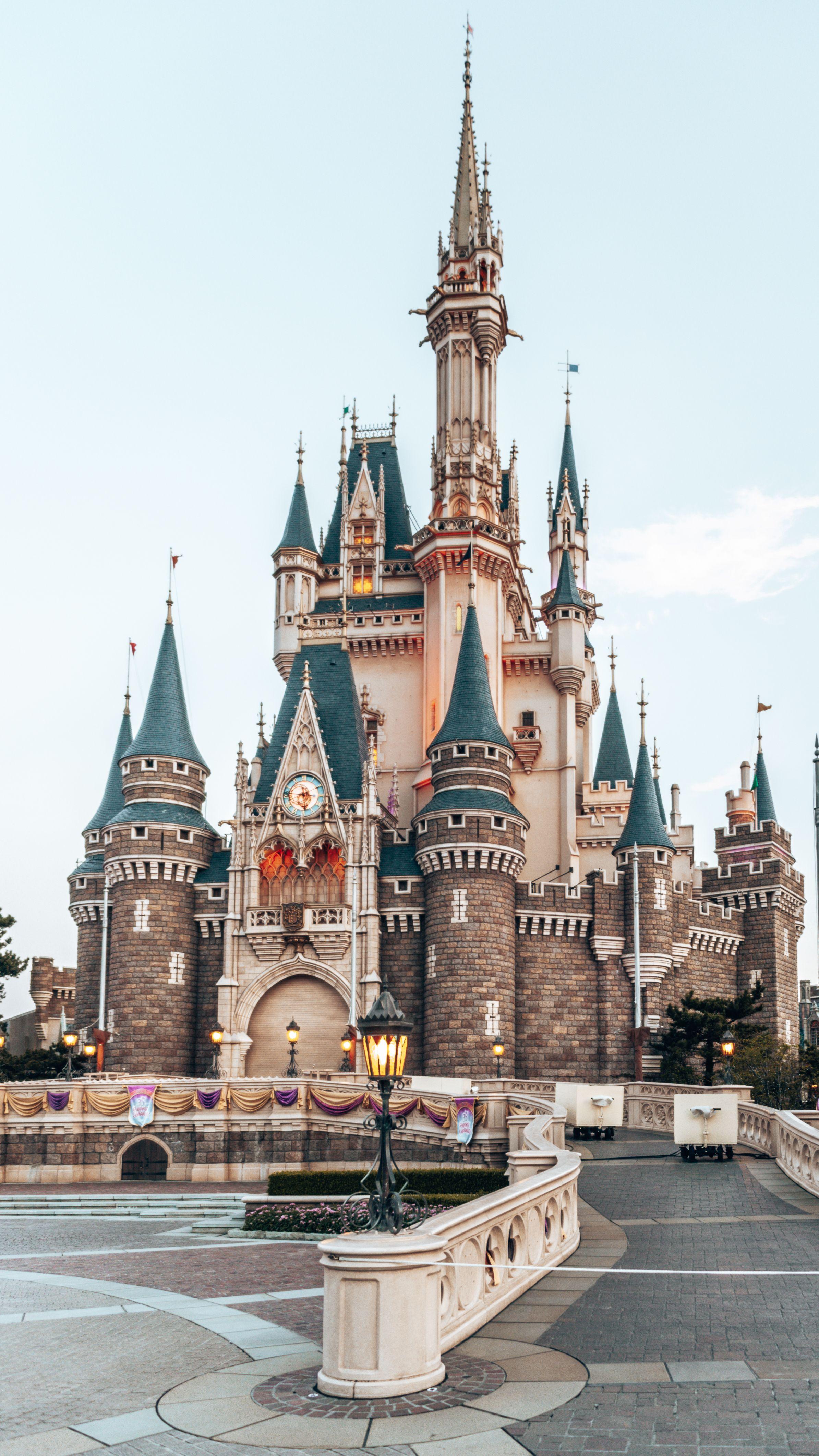 Disneyland Tokyo Castle.