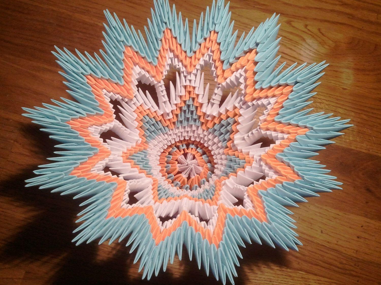 3d origami vase 3000 via etsy 3d origami art studio 3d origami vase 3000 via etsy jeuxipadfo Images