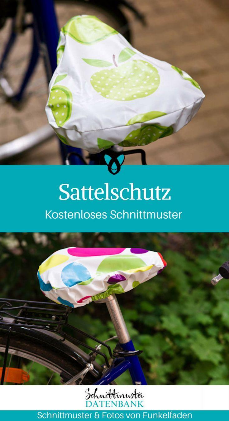 Glücksflügel: DIY: Nähanleitung für einen Sattel Bezug für