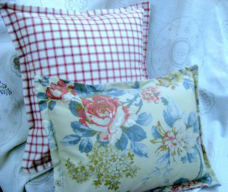 Custom SHAM SET RALPH LAUREN fabric LAKE HOUSE Floral and