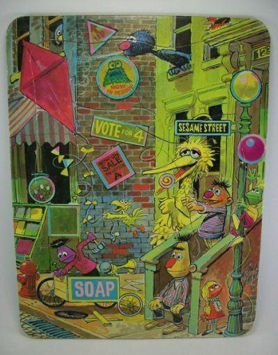 Vintage 1974 Sesame Street Henson