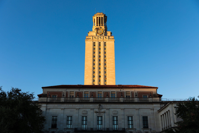 University Of Texas At Austin Tower Ut Tower Ut Clock Tower