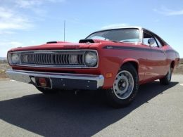 1971 Plymouth Duster Muscle Car by 813Demon340 http://www.musclecarbuilds.net/1971-plymouth-duster-build-by-813demon340