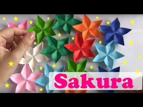 Flor 4 ptalas de origami youtube flores pinterest origami flor 4 ptalas de origami youtube mightylinksfo