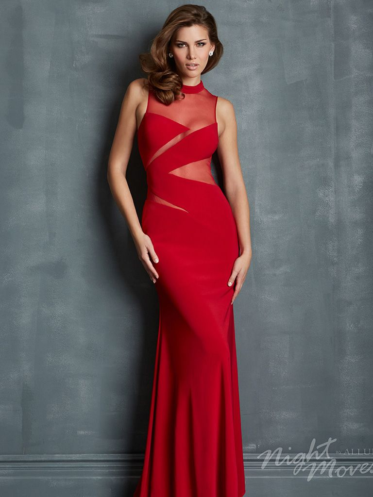 Night moves prom dress by allure prom dresses pinterest night