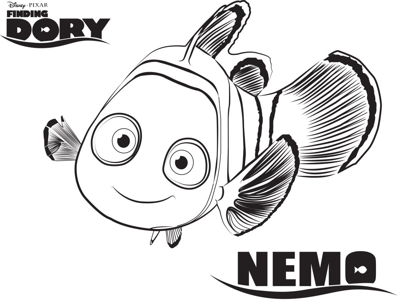 Coloring pages for dory - Disney S Finding Dory Coloring Pages Sheet Free Disney Printable Finding Dory Color Page