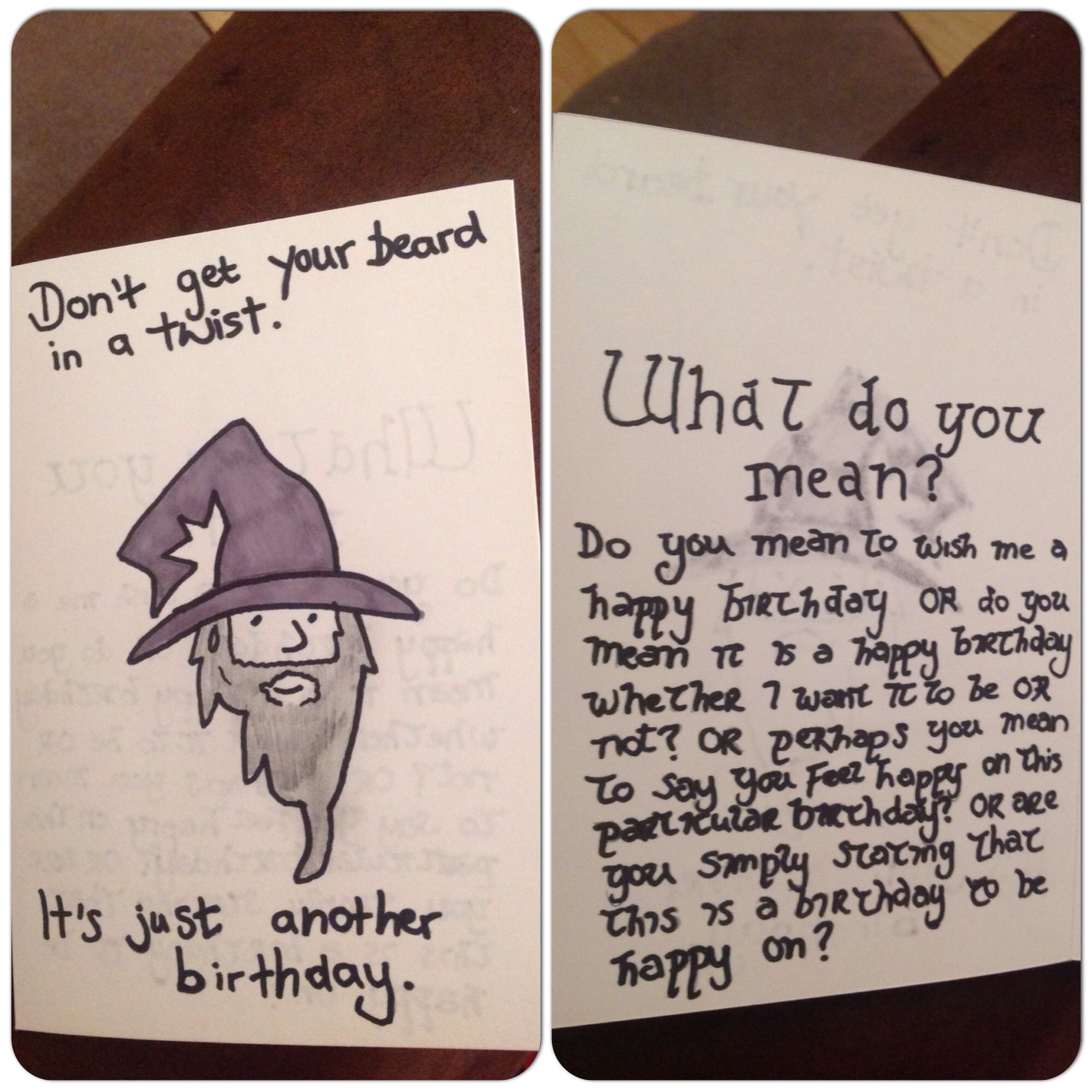 Gandalf Birthday Card Lord Of The Rings The Hobbit Love This Drawing Of Gandalf Birthday Cards Lotr Gifts Birthday Ecards Funny