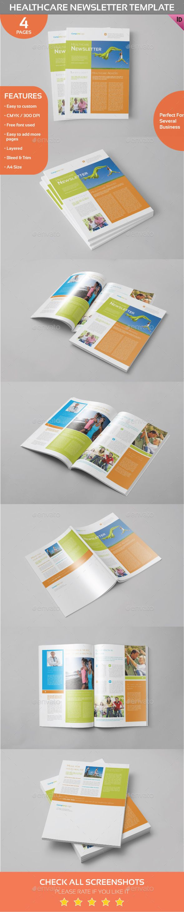 healthcare newsletter template newsletter templates print