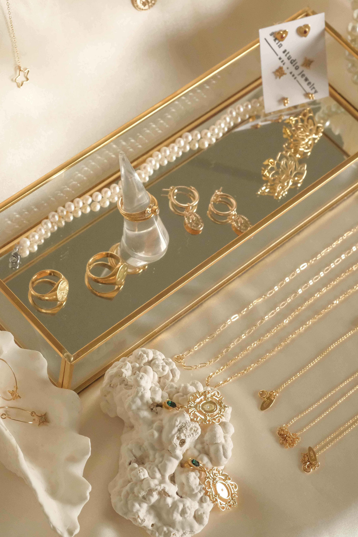 Gold Filled Treasure Trove Gold Aesthetic Classy Aesthetic Cream Aesthetic