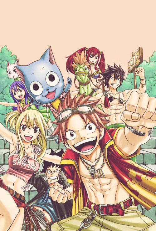 Blog De Fairy Tail Natsu Lucy Fairytail Art Fairy Tail