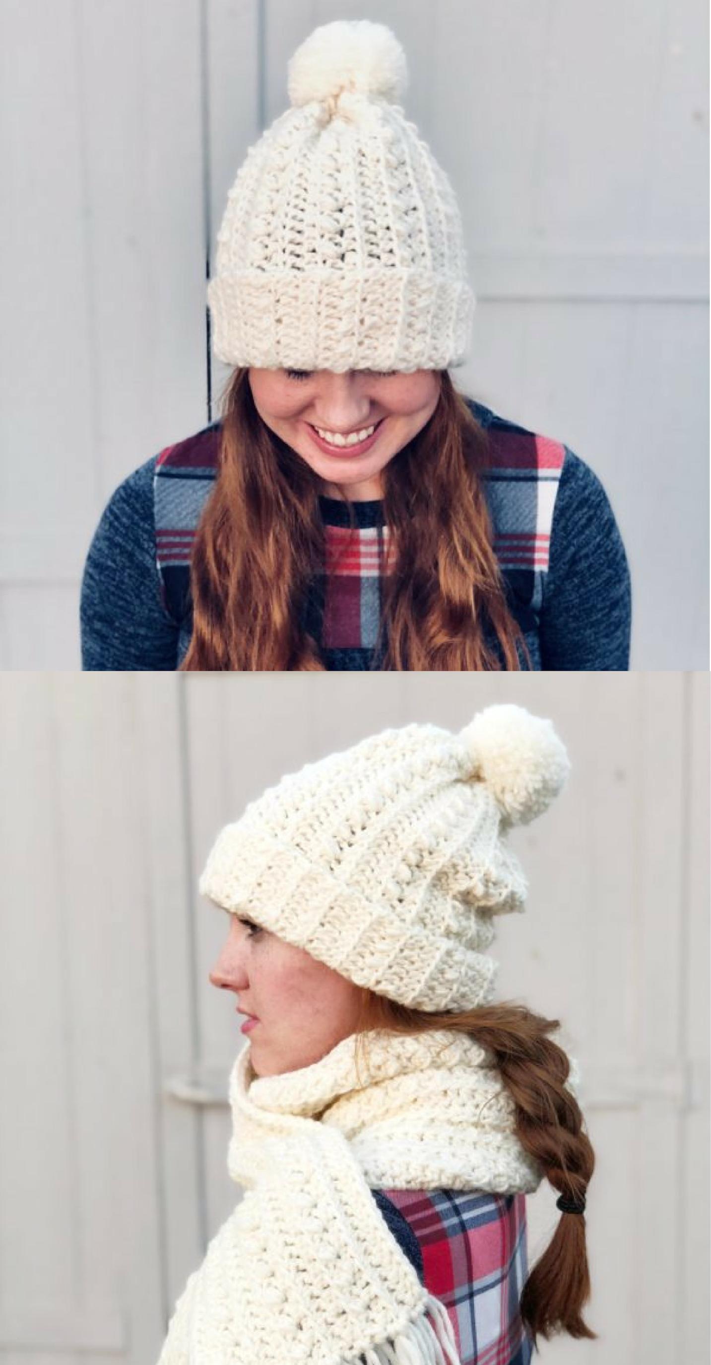 Daisy Farm Crafts Crochet Hat For Beginners Crochet Hats Scarf Crochet Pattern