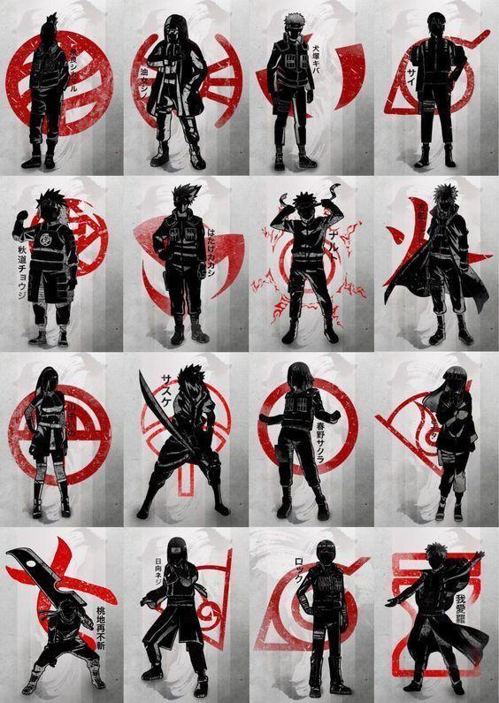 Obtenez vos produits anime a Personnages naruto, Naruto