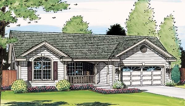 ranch traditional house plan 95952 traditional house plans traditional house and house plans