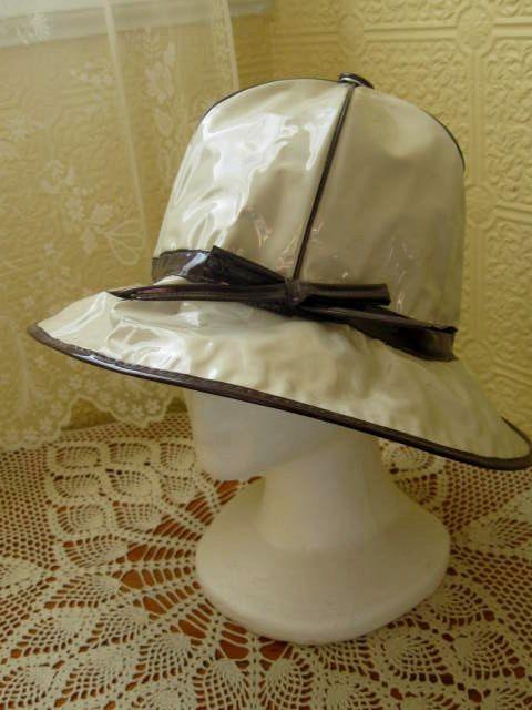 Vintage Rain Hat  6e183a3ebe5