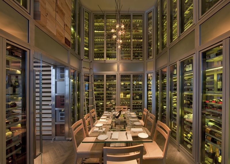 DB Bistro Moderne Miami Wine cellar & DB Bistro Moderne Miami Wine cellar | Miami Beach Concierge ...