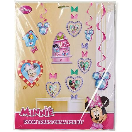 Room Transformation Kit Minnie Mouse Minnie Mouse Birthday Party