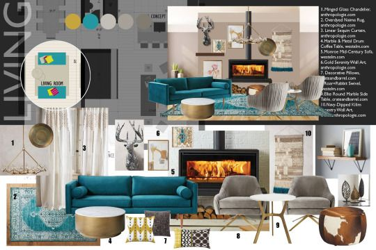 The Interior Design Institute Moodboards Pinterest Interior