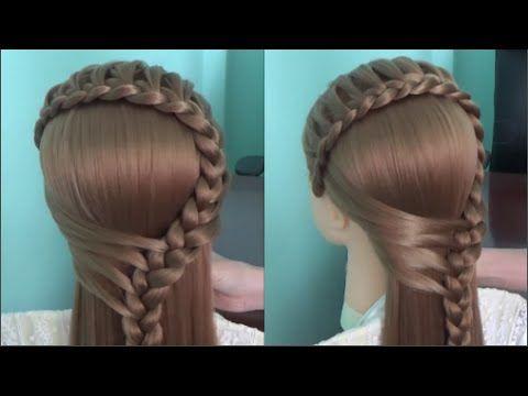 5 peinados faciles y rapidos y bonitos con trenzas p9 - Peinados faciles y bonitos ...