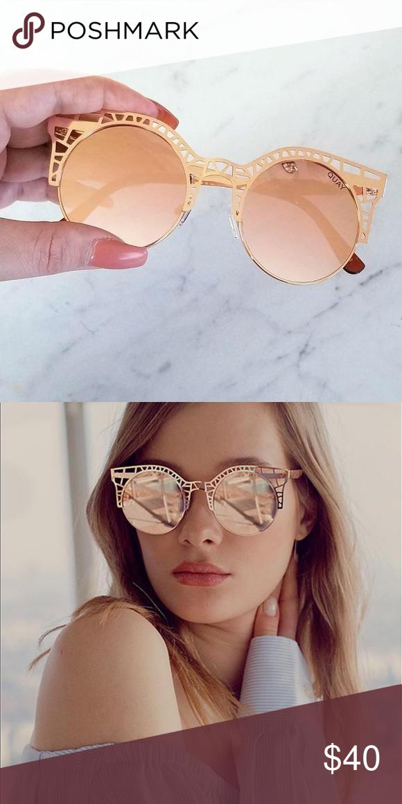 e9066d67e2 Quay Fleur Gold Statement Sunglasses Brand new with tags