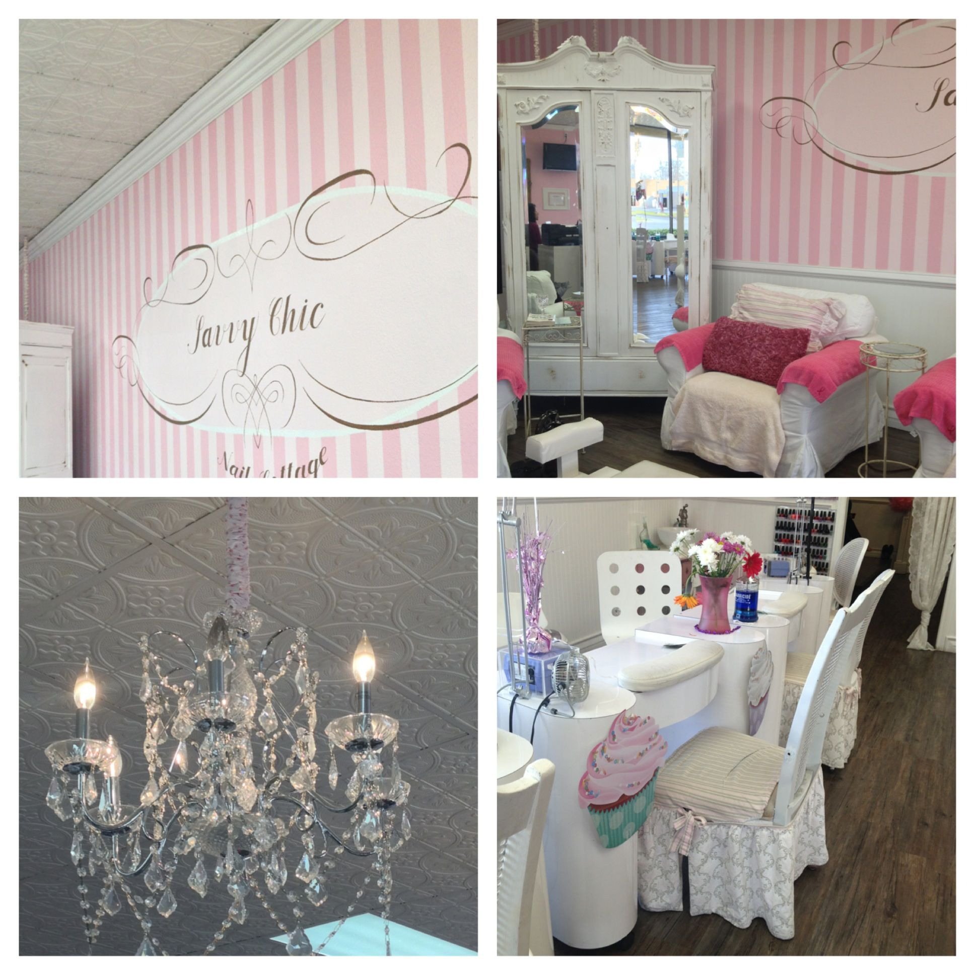 Cutest Nail Salon Ever! I Loved It, Savvy Chic