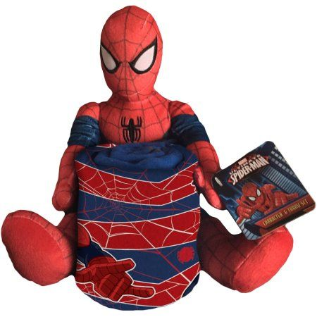 Fleece W/plush Hugger Spiderman Ultimate, Multicolor Ultimate