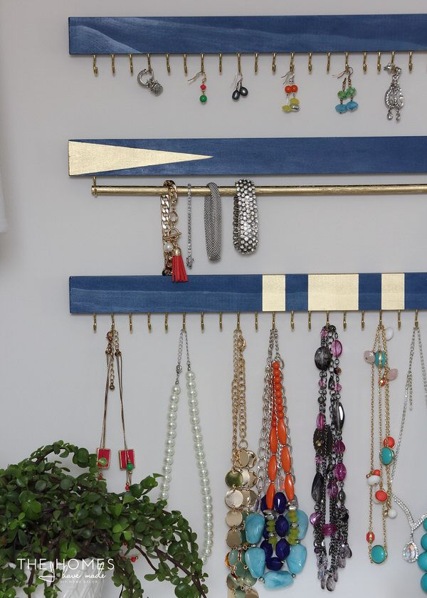 Photo of DIY Jewelry Organizer | The Homes I Have Made
