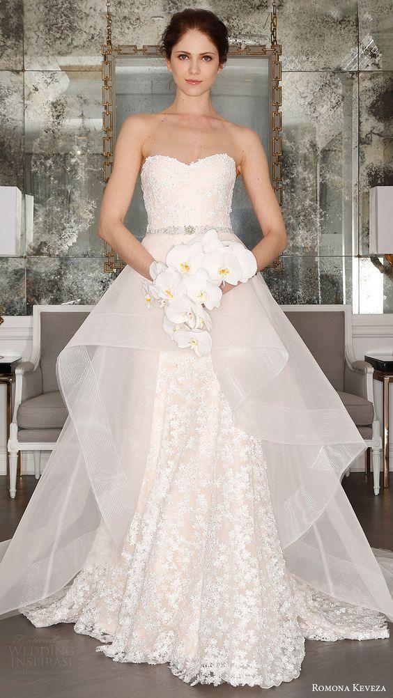 este vestido es simplemente hermoso #leubodas | la boda ideal
