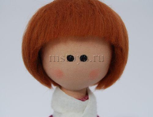 Как сделать волосы для куклы - wikiHow