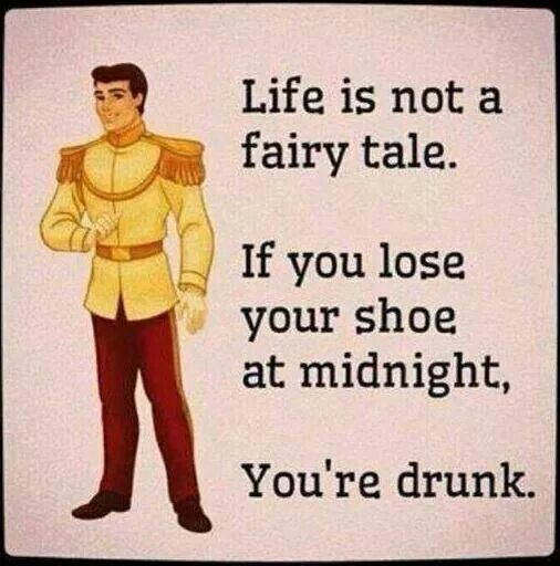 Drunken humor