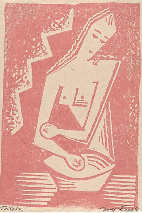 Josef Čapek (1887-1945), woodblock. #CzechArtist