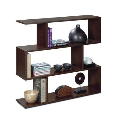 wide home bookcases low bookcase furniture short vid