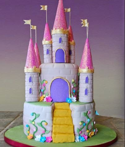 Castle Birthday Cake Castle cakes Pinterest Castle birthday