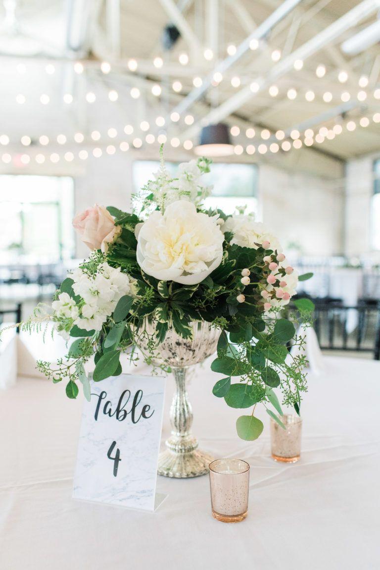 Wedding Floral Centerpiece Table Number Signs Wedding Reception Hollandmi Michigan Wedding Floral Centerpieces Michigan Wedding Venues Wedding Event Space