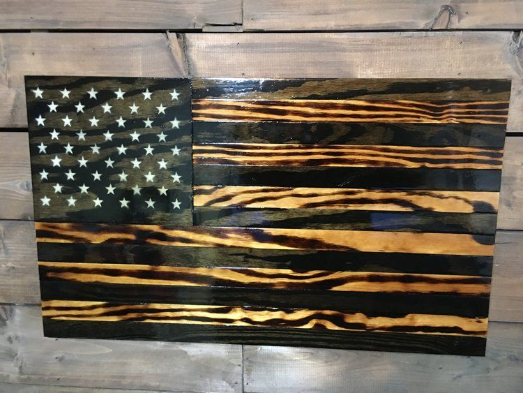 Handmade American Rustic Wooden Flags Veteran Made Woodworks American Flag Wall Decor Wooden American Flag American Flag Wall Hanging