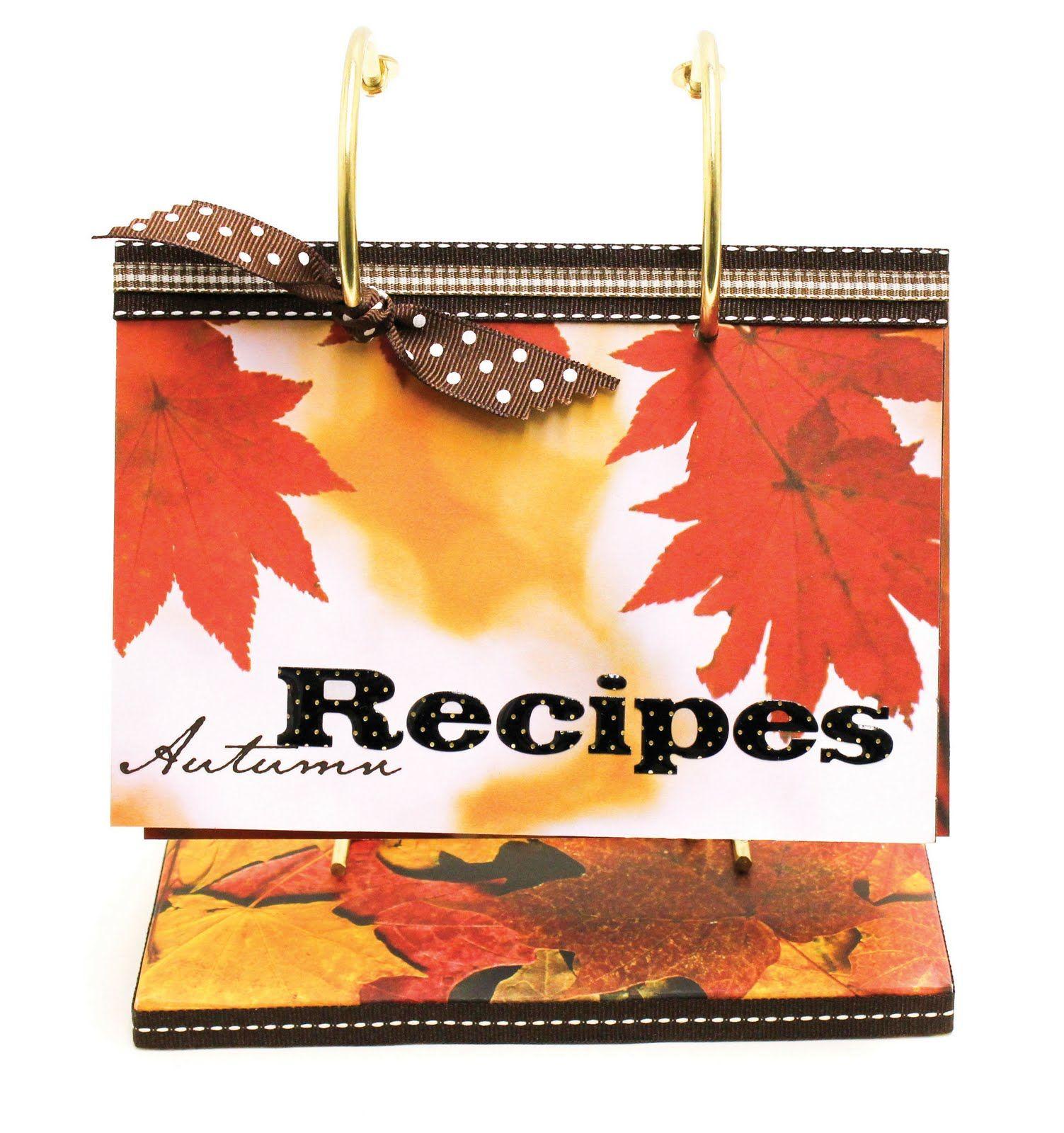 Autumn Recipe Flip Book