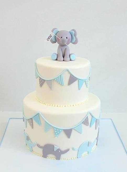Cake f te de bapt me jolies et f tes - Idees deco bapteme garcon ...