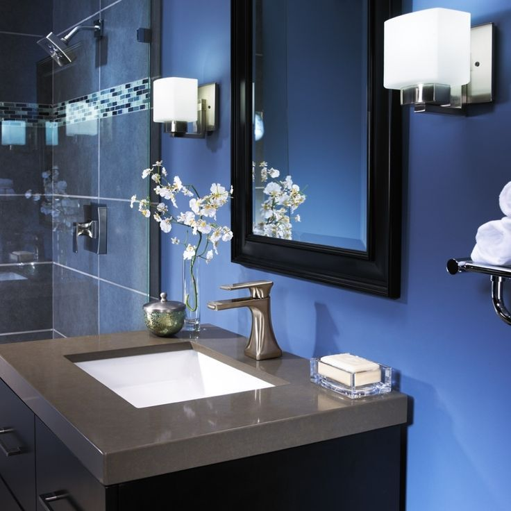 Image Result For Blue And Grey Bathroom Decor
